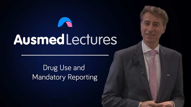 Cover image for lecture: Drug Use and Mandatory Reporting