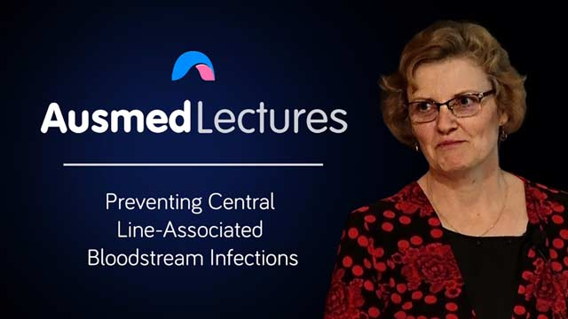 Cover image for lecture: Preventing Central Line-Associated Bloodstream Infections