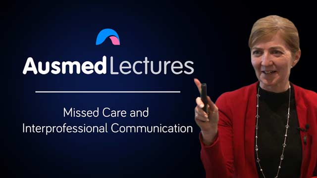 Cover image for lecture: Missed Care and Interprofessional Communication