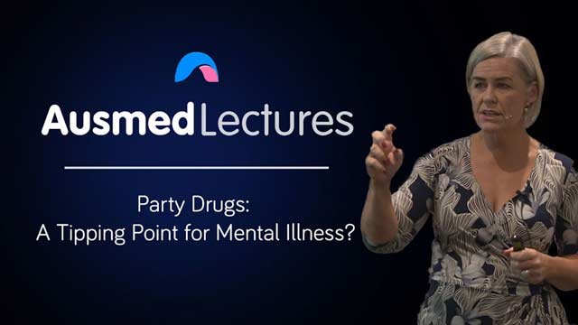 Cover image for lecture: Party Drugs: a Tipping Point for Mental Illness?