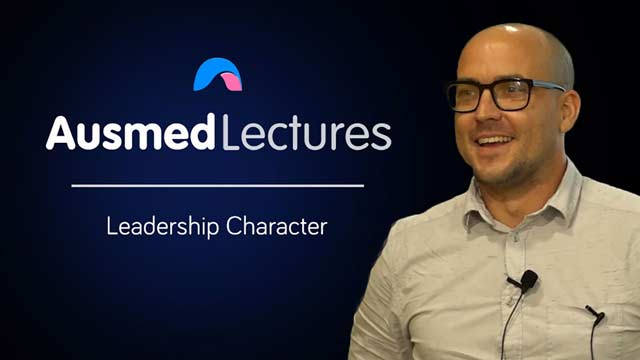 Cover image for lecture: Leadership Character
