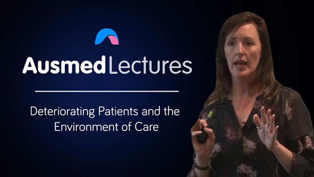 Cover image for lecture: Deteriorating Patients and the Environment of Care
