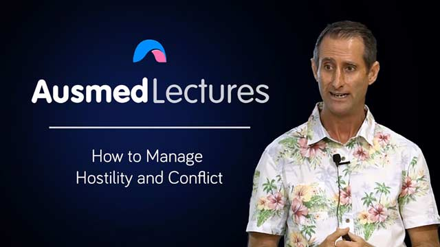Cover image for lecture: How to Manage Hostility and Conflict