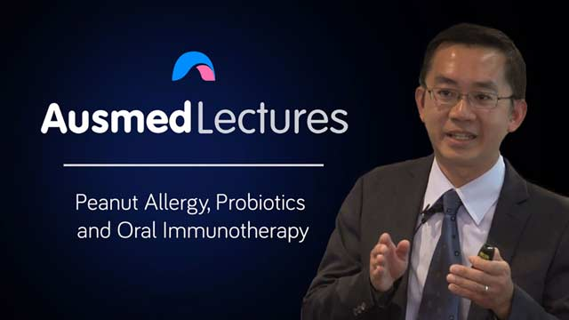 Cover image for lecture: Peanut Allergy, Probiotics and Oral Immunotherapy