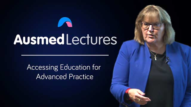 Cover image for lecture: Accessing Education for Advanced Practice
