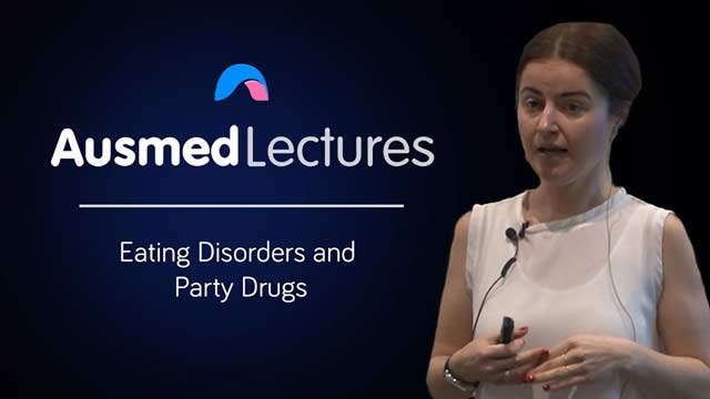 Cover image for lecture: Eating Disorders and Party Drugs
