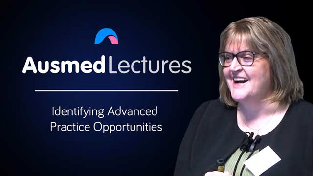 Cover image for lecture: Identifying Advanced Practice Opportunities