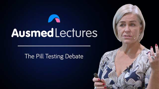 Cover image for lecture: The Pill Testing Debate