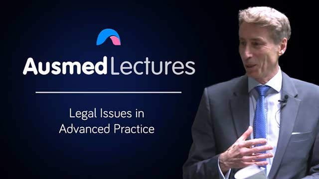 Cover image for lecture: Legal Issues in Advanced Practice