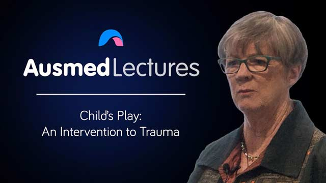 Cover image for lecture: Child's Play: an Intervention to Trauma