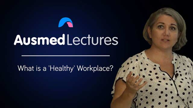 Cover image for lecture: What is a 'Healthy' Workplace?