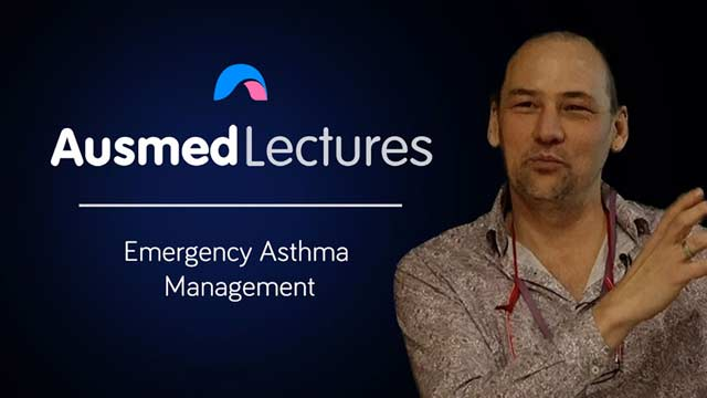 Cover image for lecture: Emergency Asthma Management