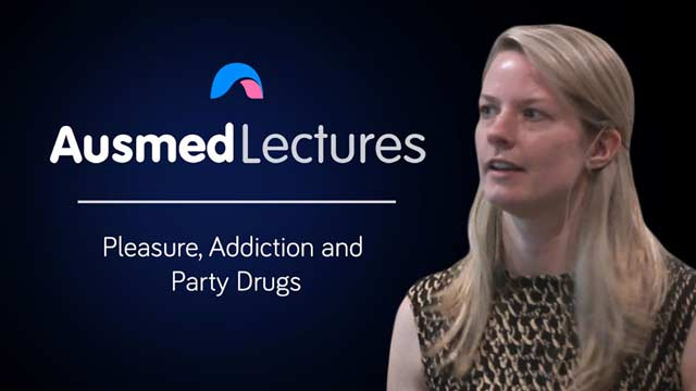 Cover image for lecture: Pleasure, Addiction and Party Drugs