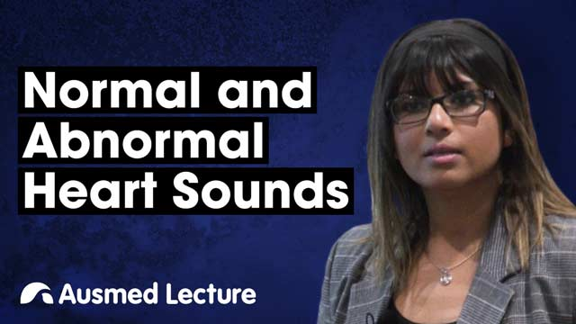 Cover image for lecture: Normal and Abnormal Heart Sounds