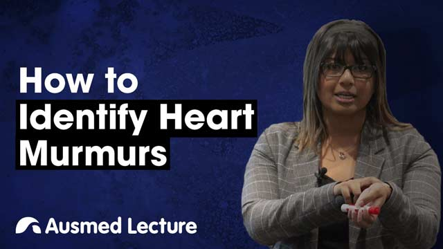 Cover image for lecture: How to Identify Heart Murmurs