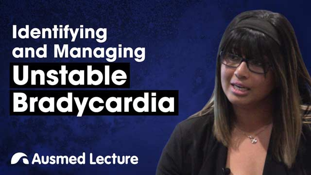 Cover image for lecture: Identifying and Managing Unstable Bradycardia