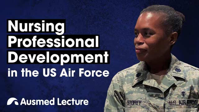 Cover image for lecture: Nursing Professional Development in the US Air Force