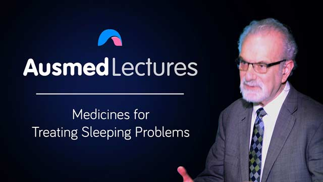 Cover image for lecture: Medicines for Treating Sleeping Problems