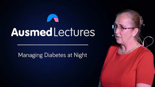Cover image for lecture: Managing Diabetes at Night