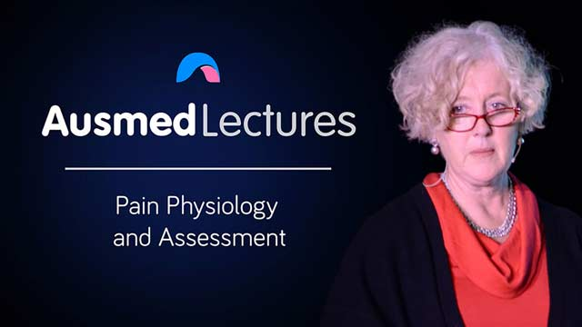 Cover image for lecture: Pain Physiology and Assessment