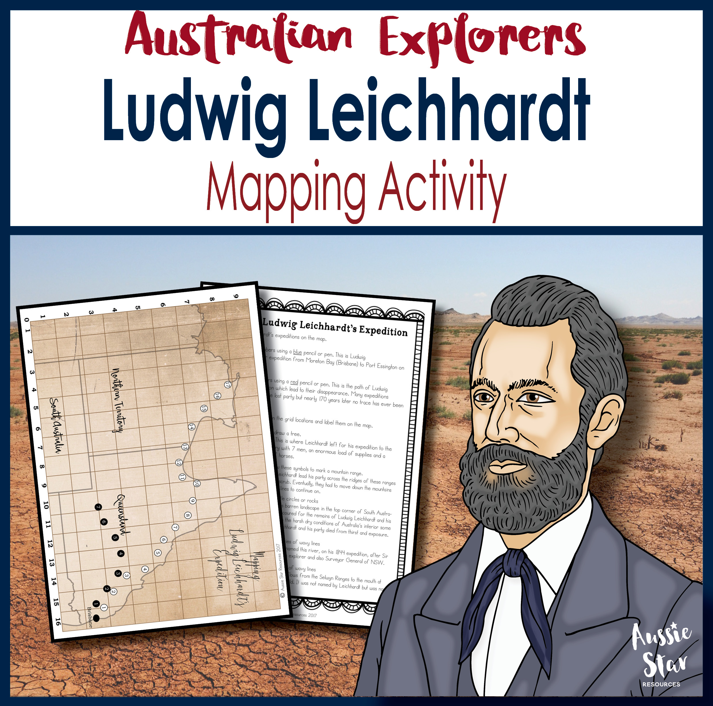 Ludwig Leichhardt Expedition Mapping Activity