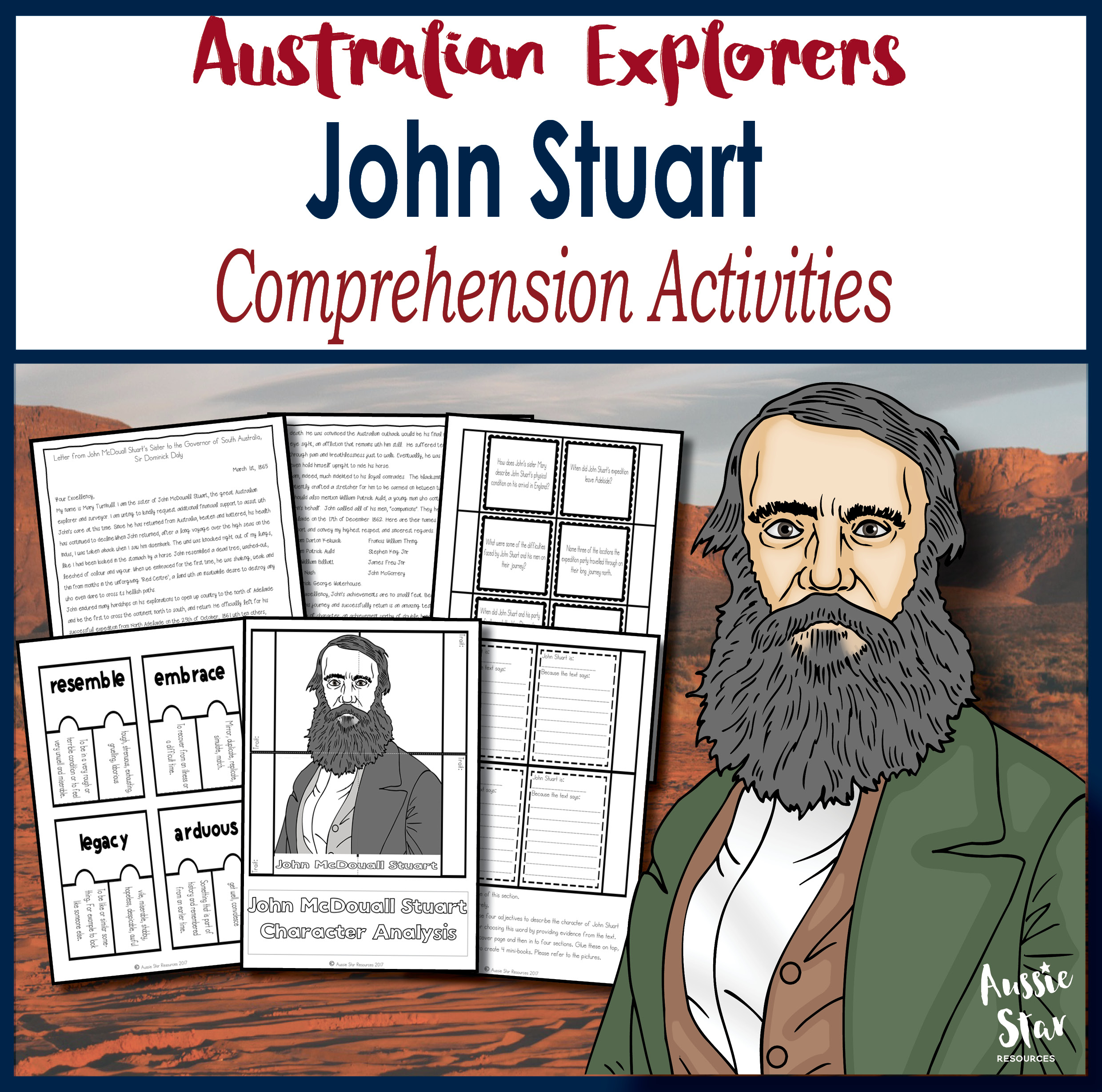 John Stuart Comprehension Activities
