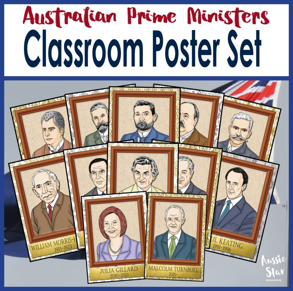 Edmund Barton U Edmund Barton: Australian Prime Ministers Classroom Display Posters