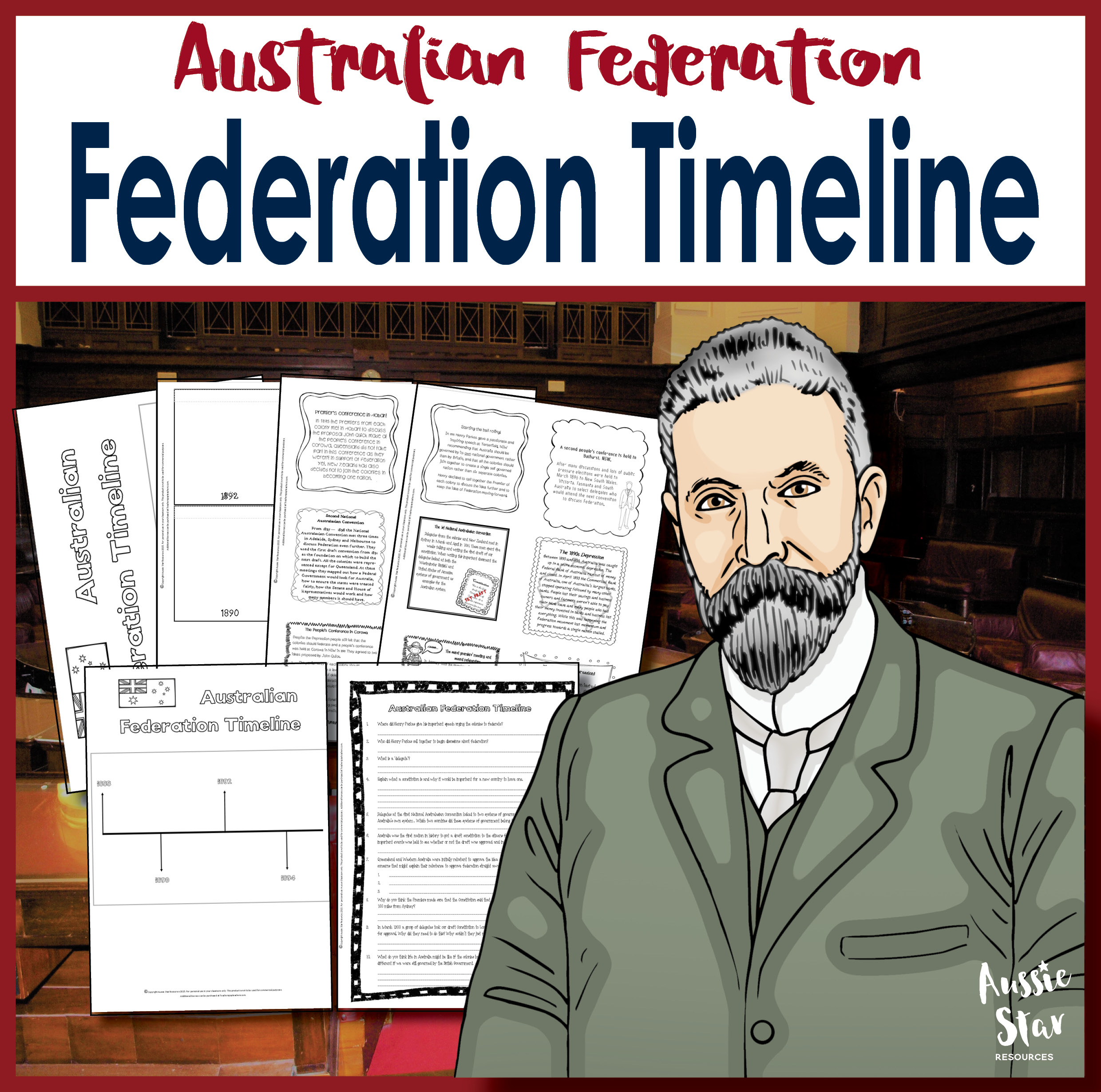 the federation of australia The federation of australia was the way that the six separate british colonies of new south wales, queensland, south australia, tasmania,.