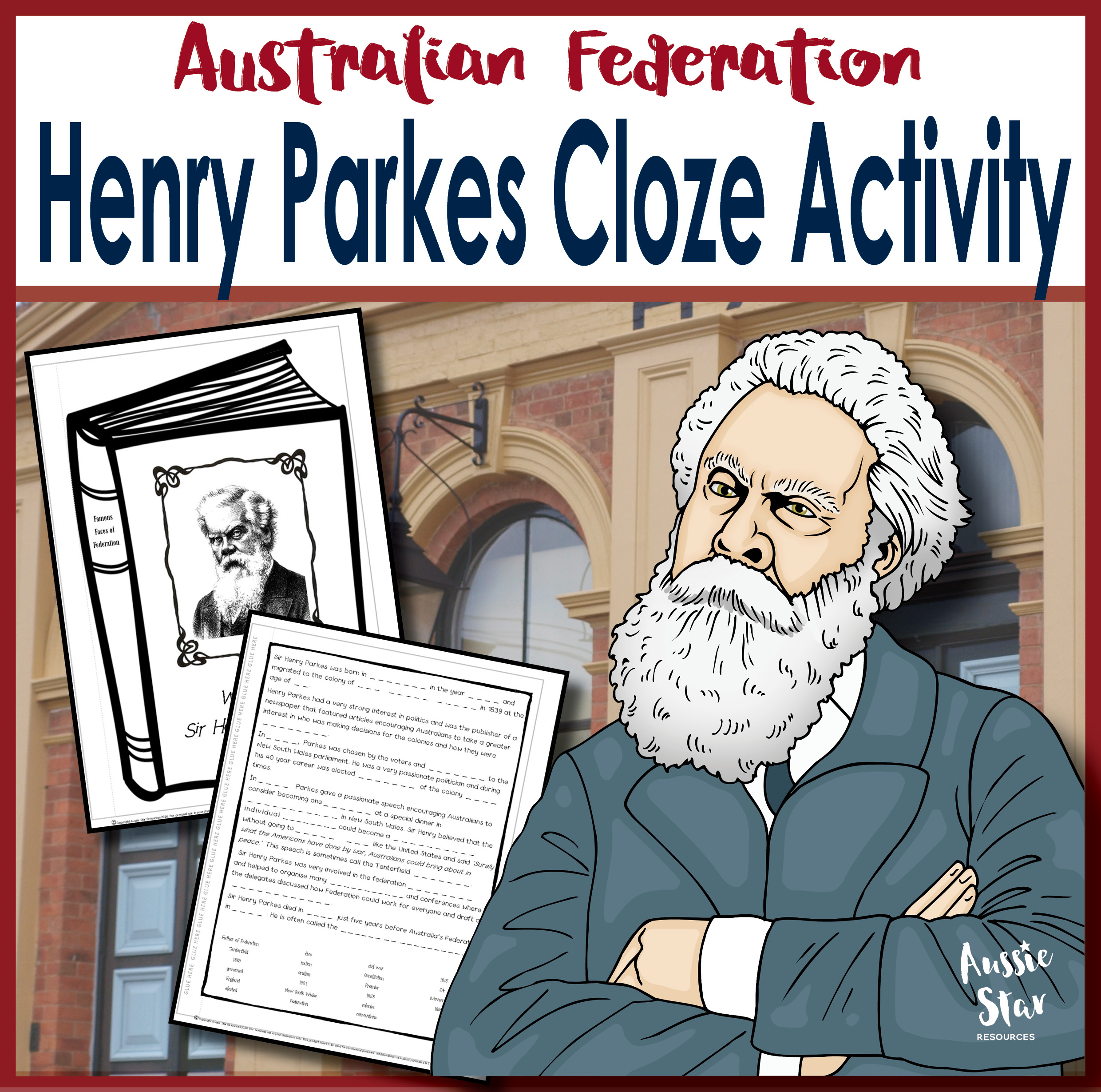 Henry Parkes cloze activity