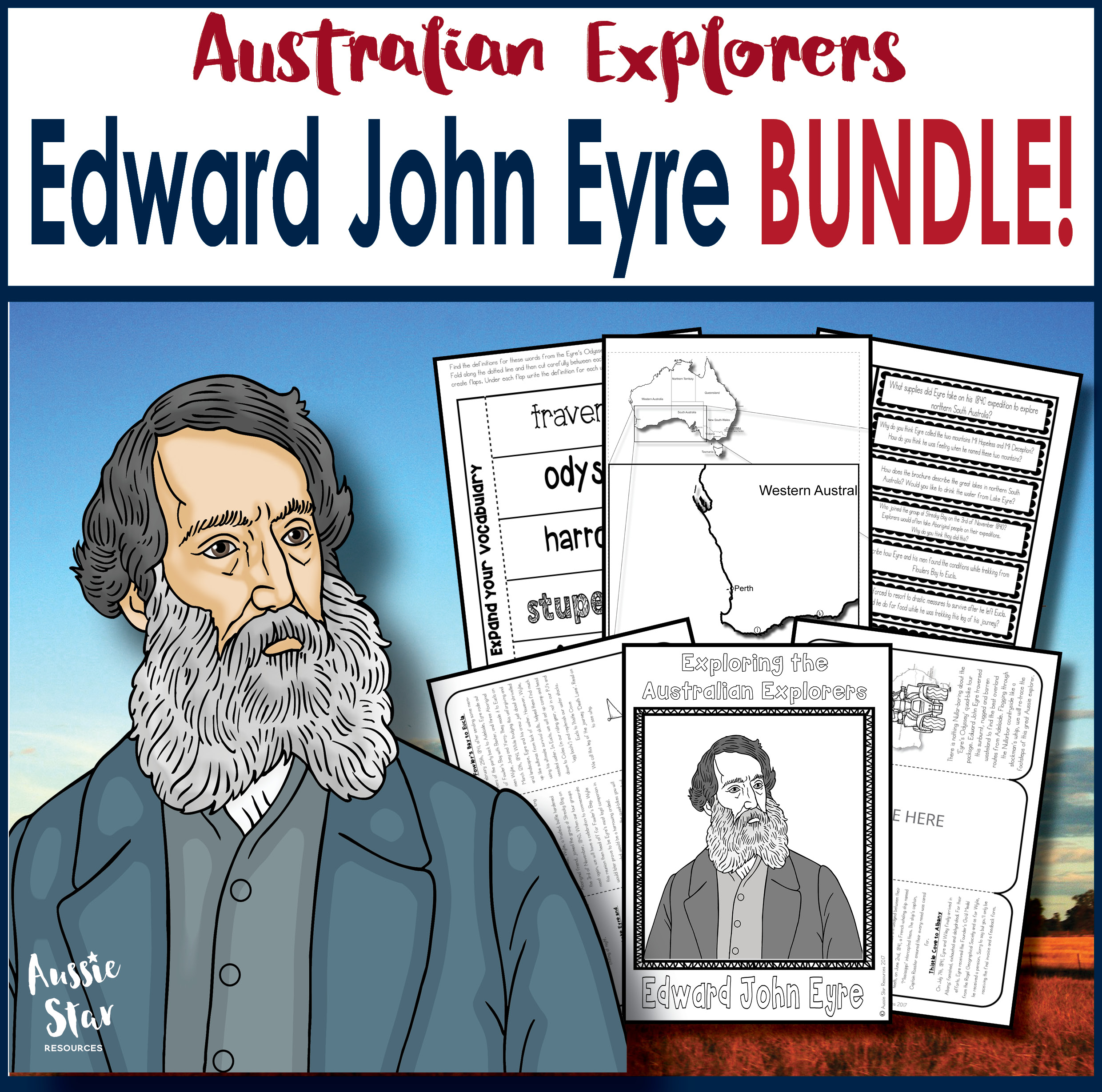 Edward John Eyre BUNDLE