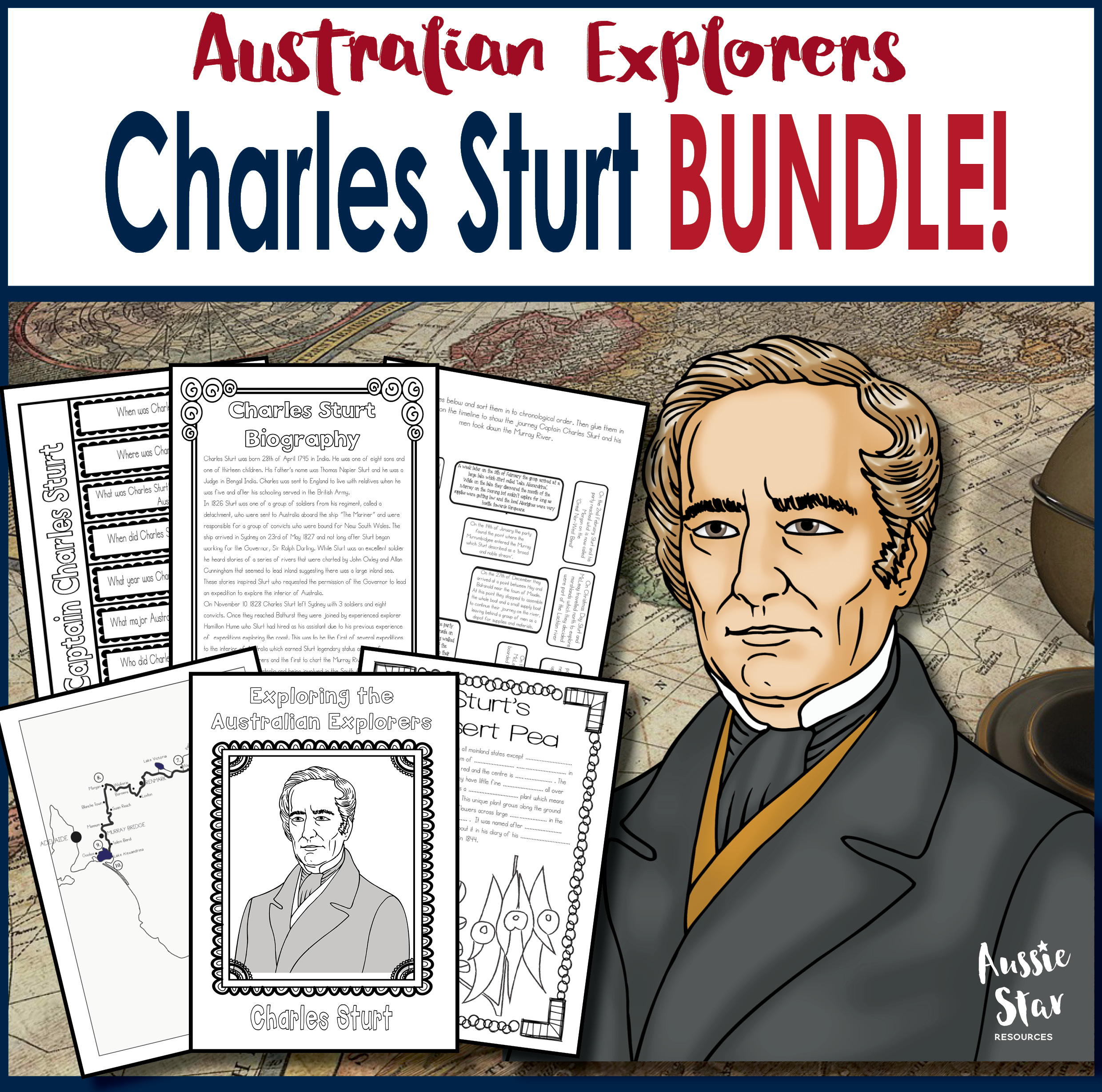 Charles Sturt Activity Bundle Save 30%