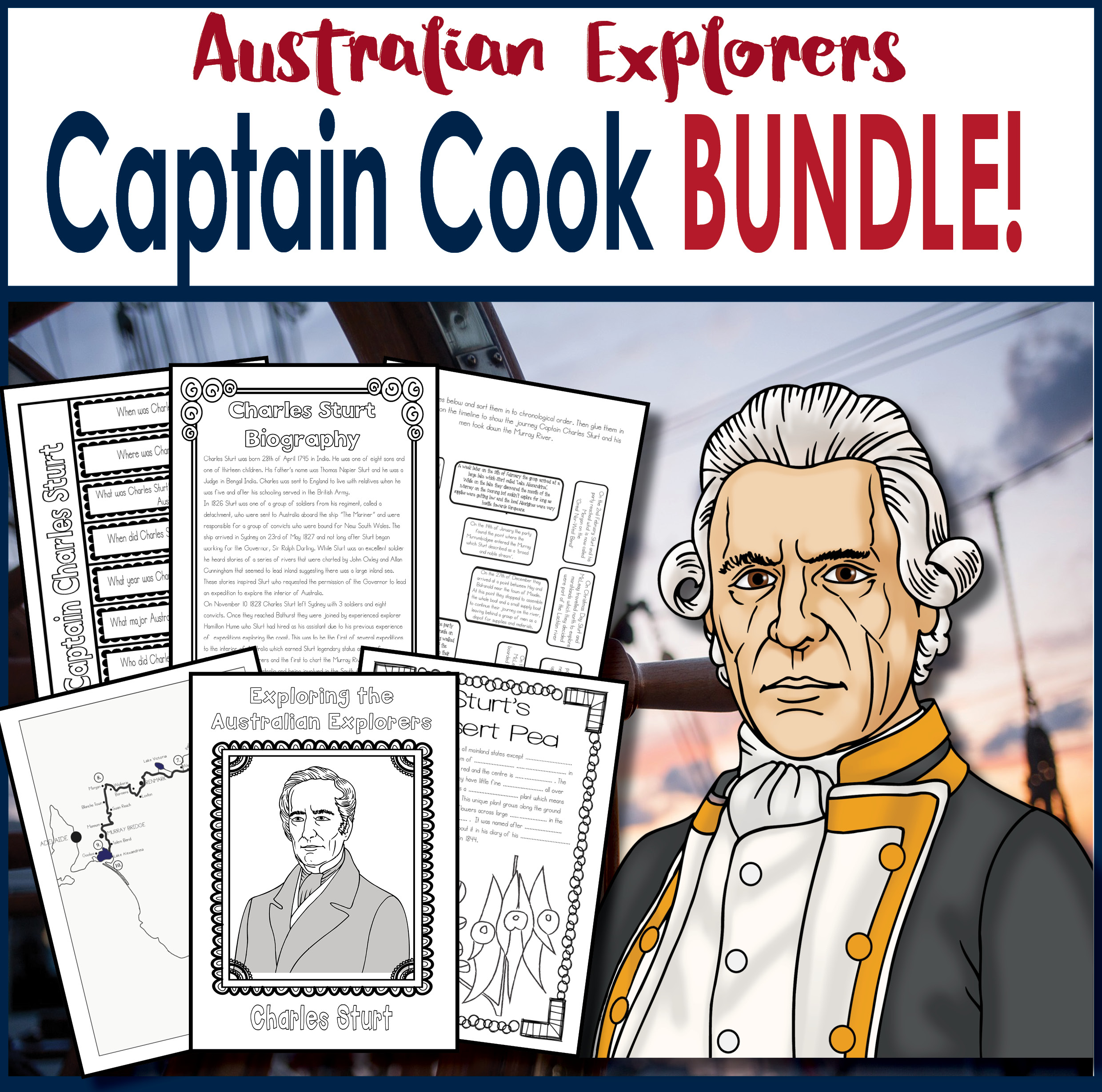 Captain James Cook BUNDLE Save 30%