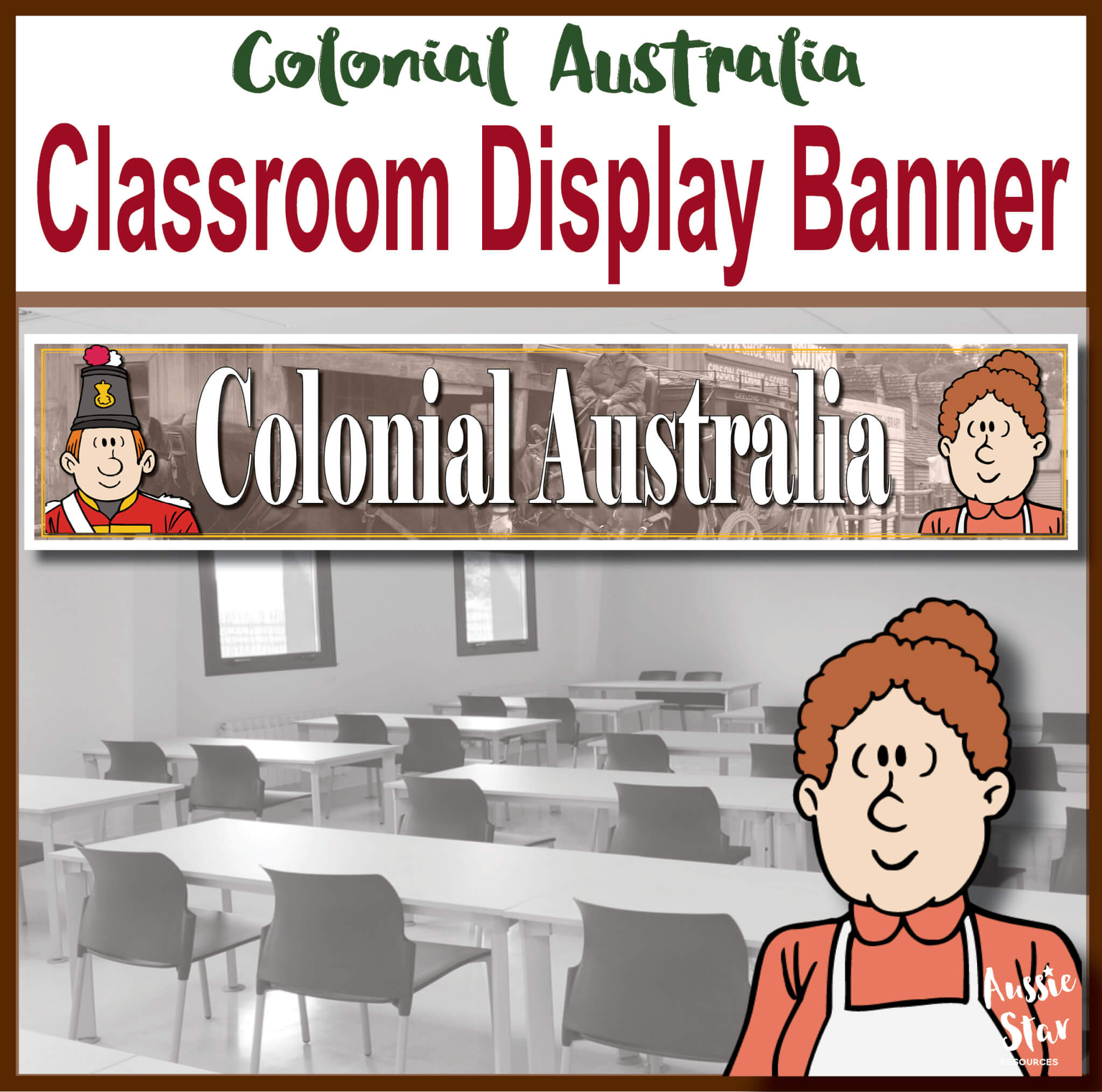Colonial Australia Display Banner