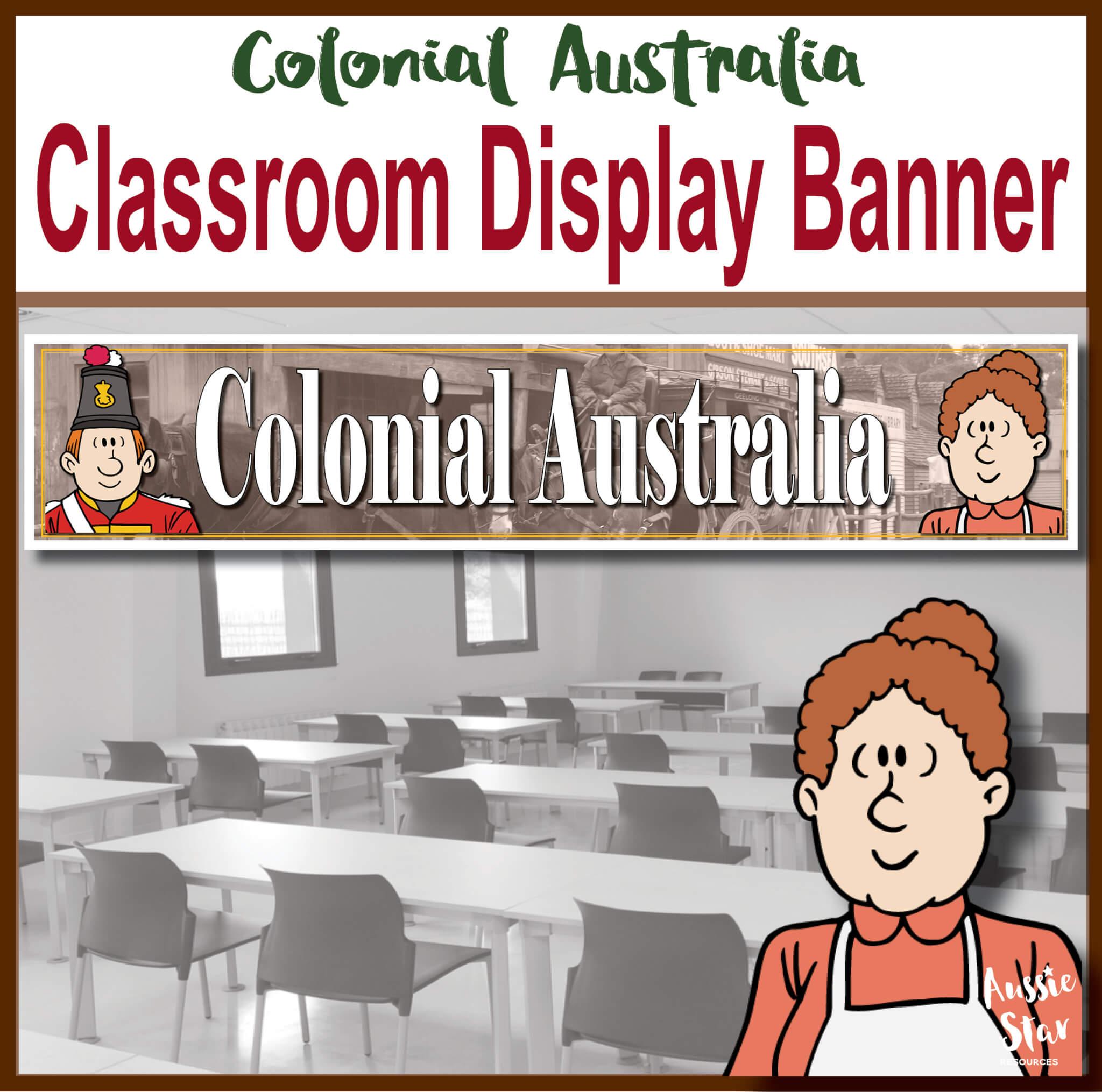 Colonial Australia Display Banner