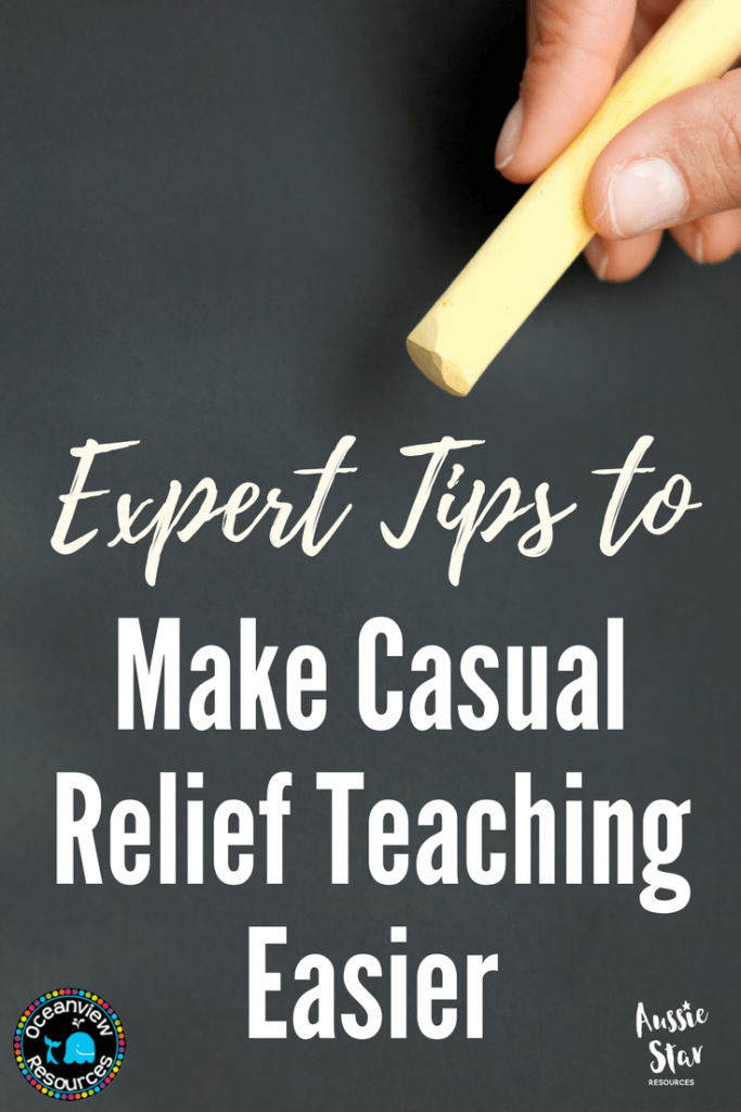 Casual Relief Teacher time and behaviour management