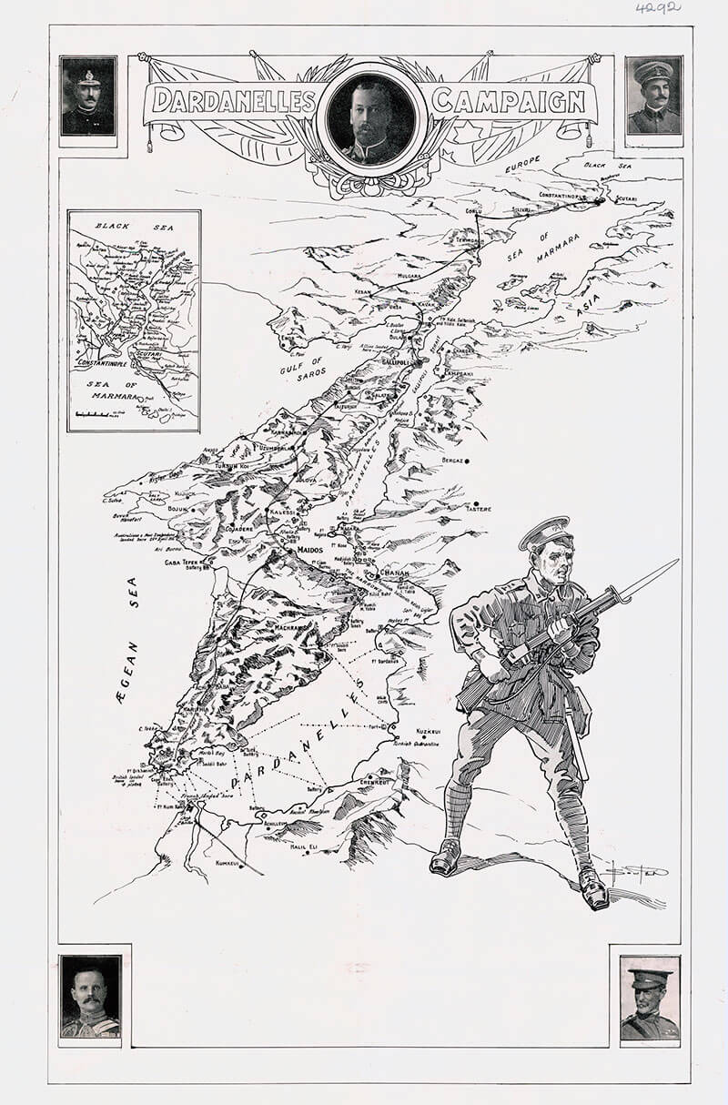 gallipoli-upper-primary-teaching-resources