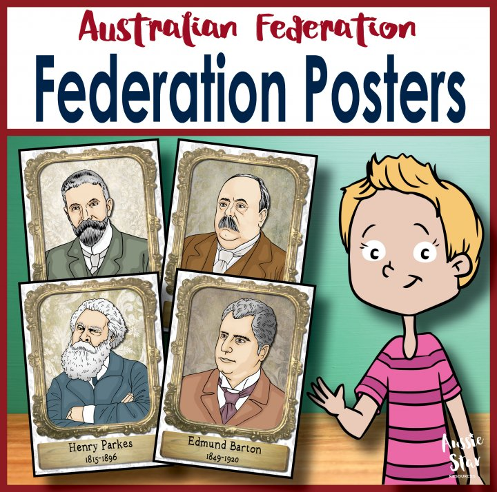 famous faces of Australian federation
