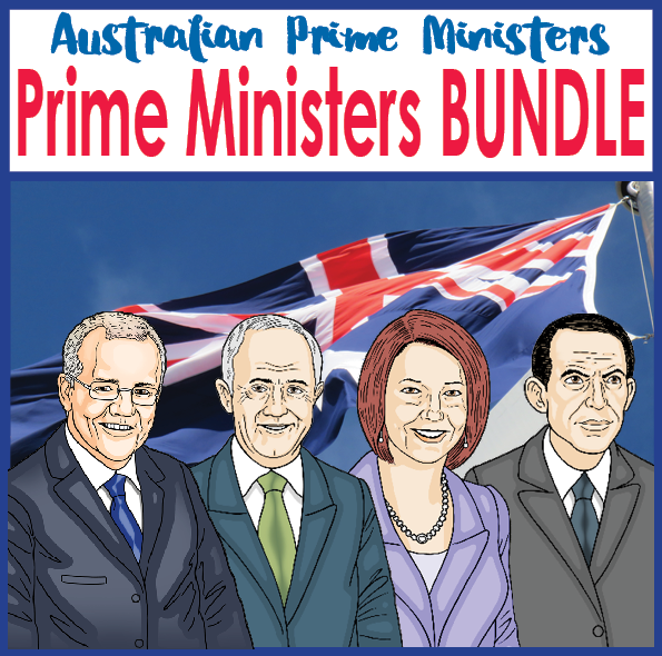 Australian-prime-ministers-activity-bundle