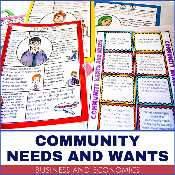 Business and Economics Community needs and wants