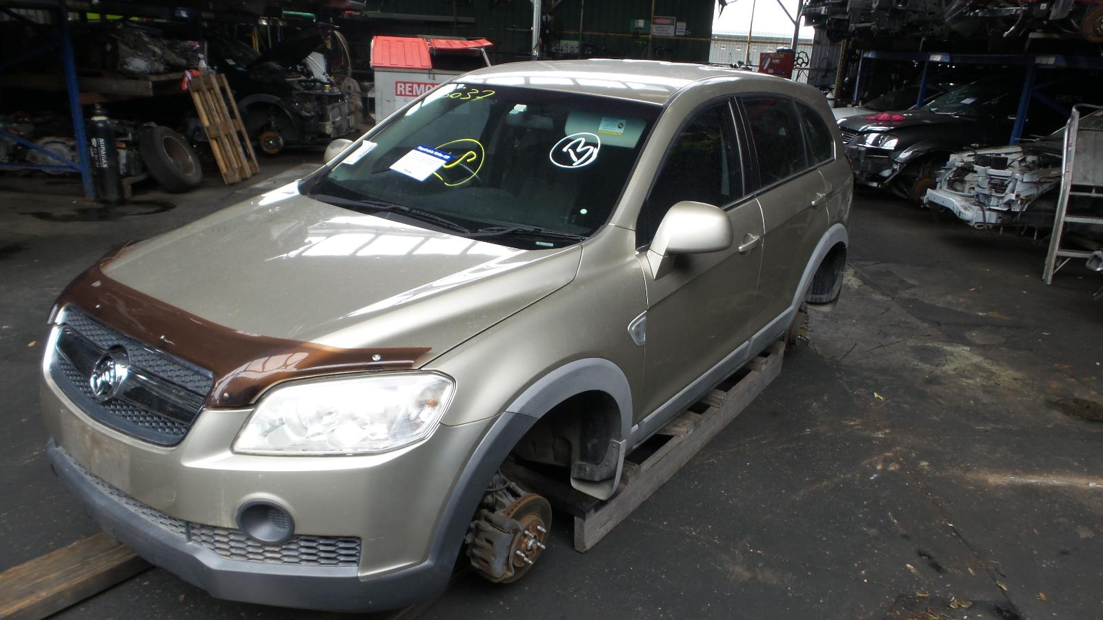 View Auto part Wheel Arch Flare Holden Captiva 2008