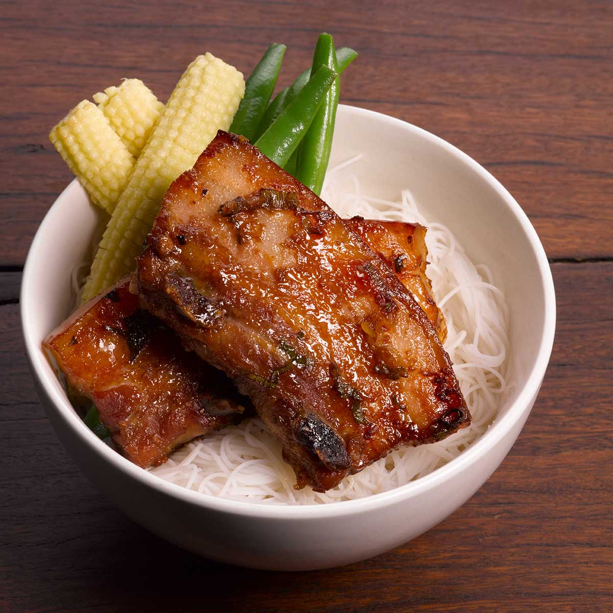 Korean Pork sticky ribs