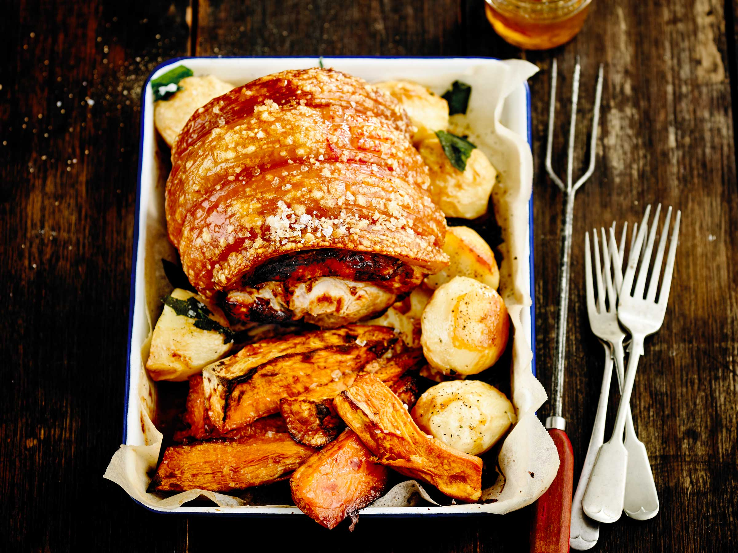 crackling day Roast pork with perfect crackling and apple sauce recipe at waitrosecom visit the waitrose website for more pork and roast recipes and ideas.