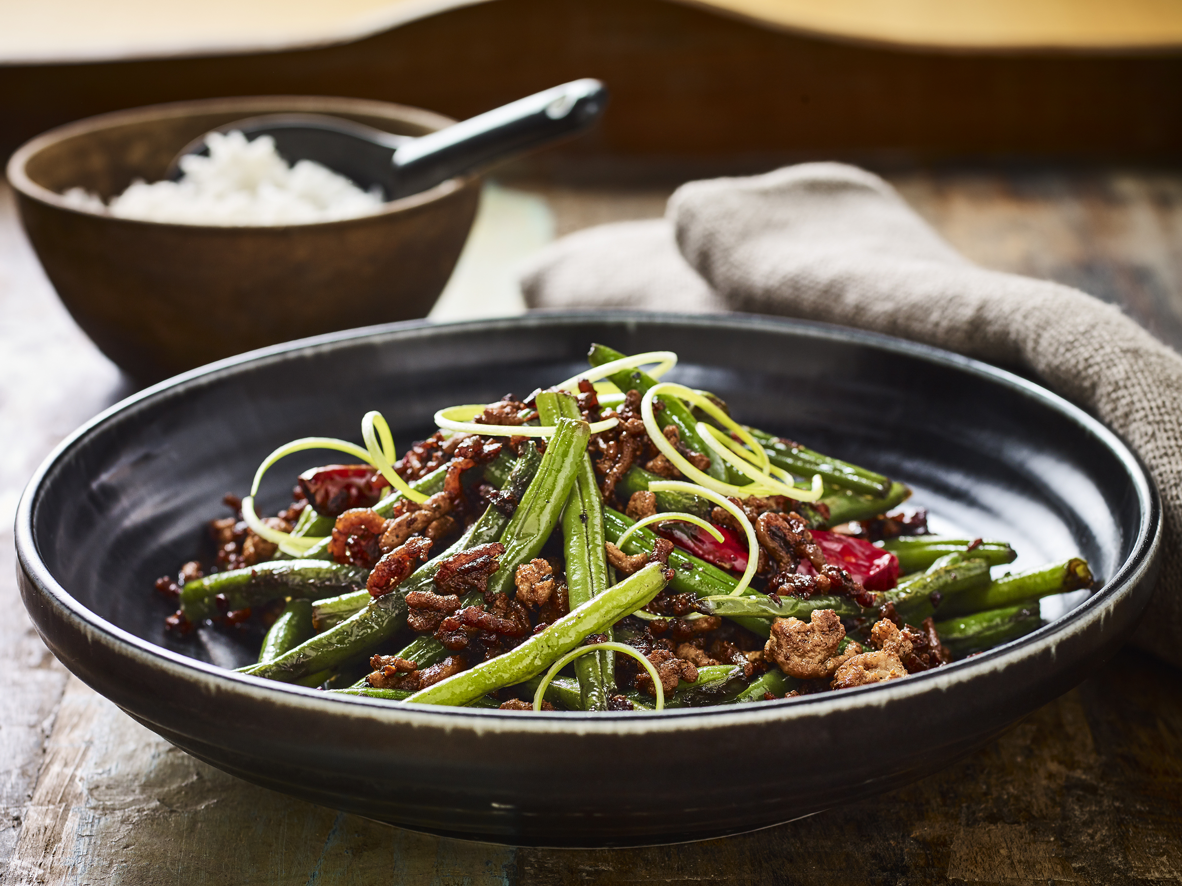 Australian pork australian pork recipes cooking tips and how to dry fried green beans with minced pork forumfinder Choice Image
