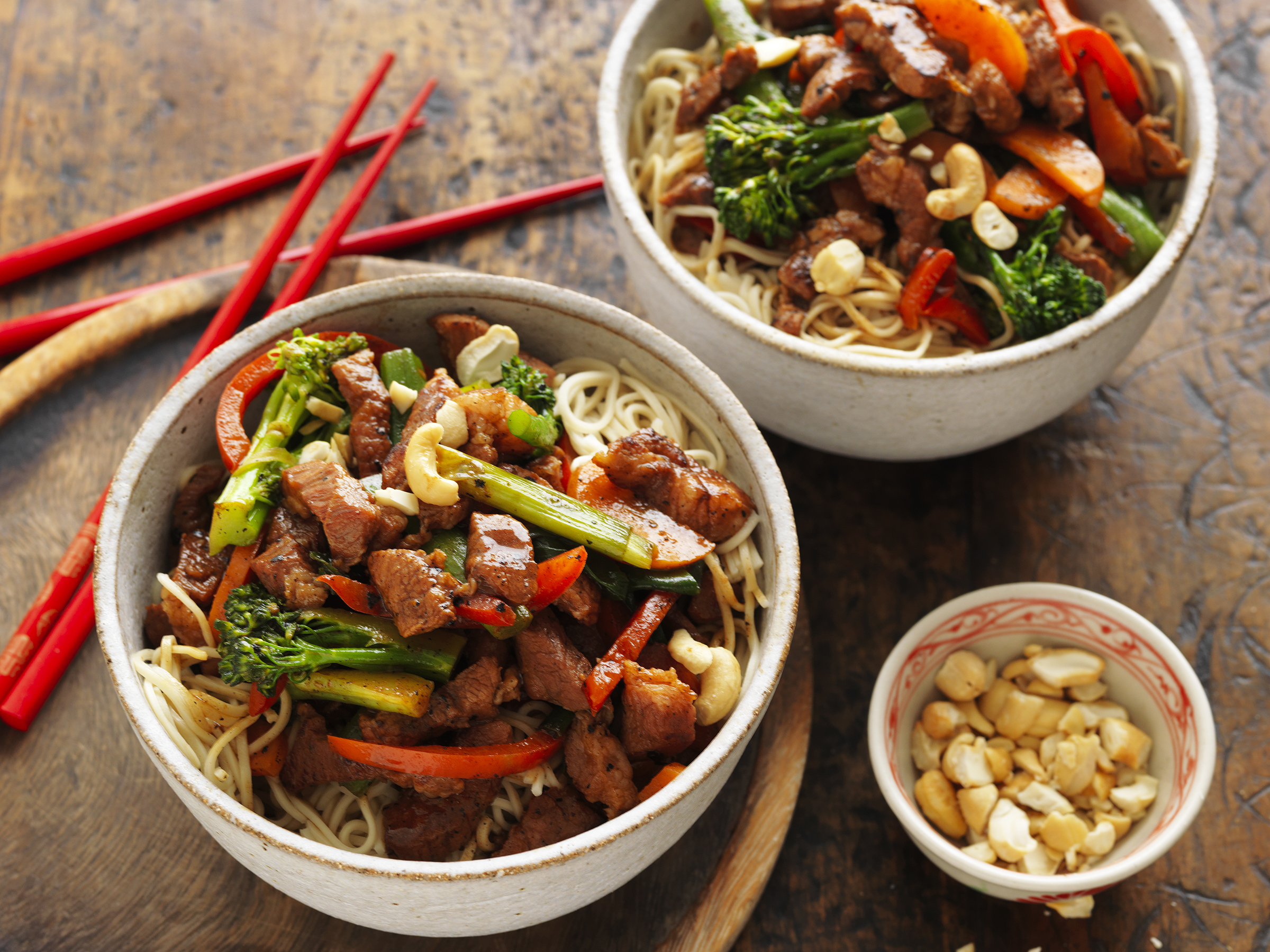 Recipe finder australian pork australian pork hoisin honey pork veggie noodle stir fry forumfinder