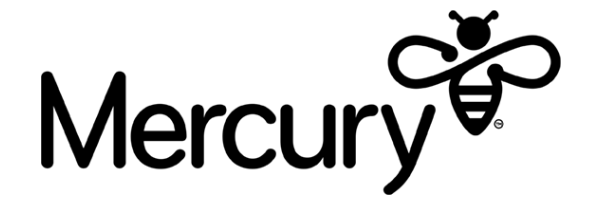 Mercury Energy logo in black background