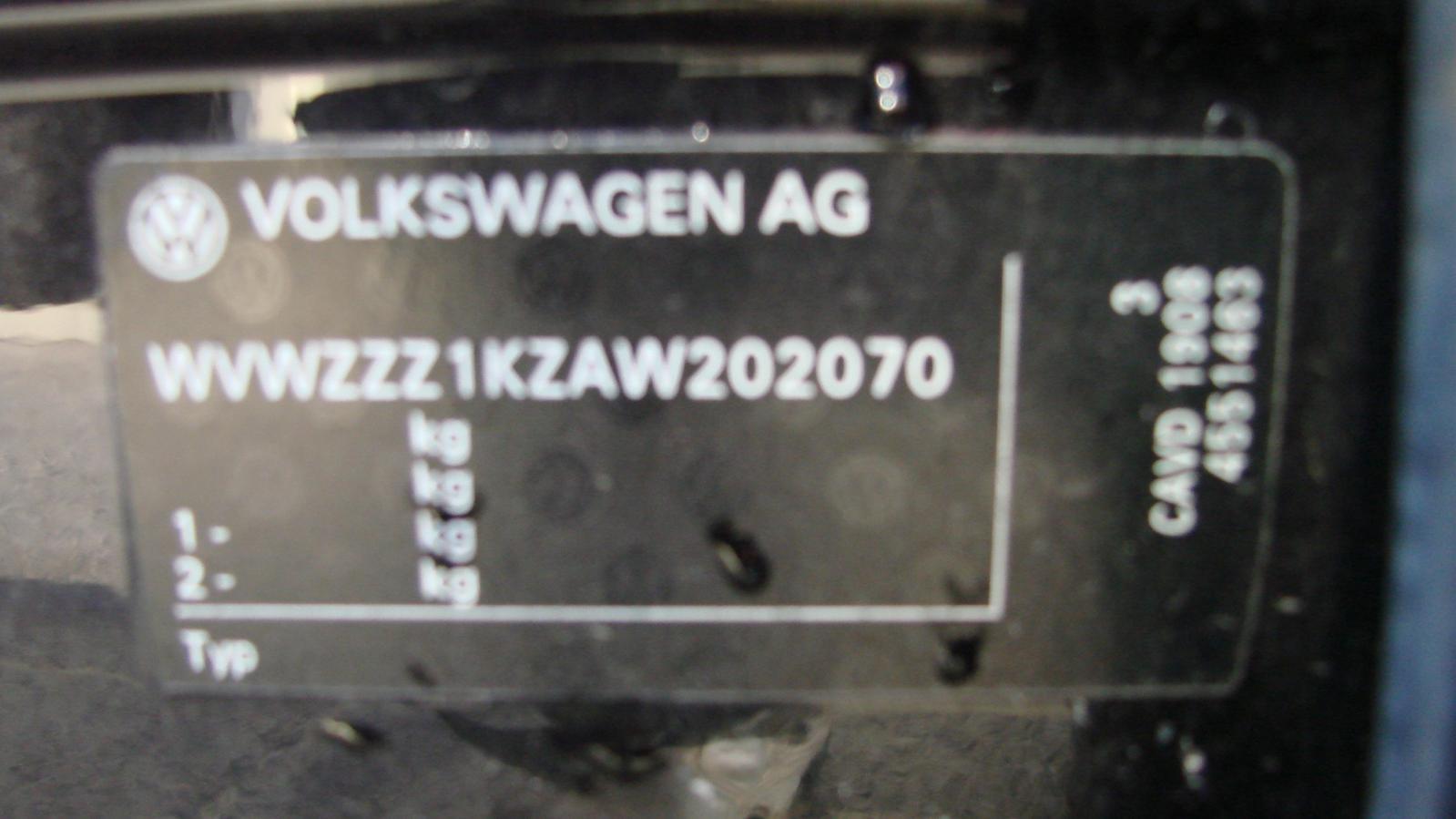 View Auto part Left Rear Door/Sliding Volkswagen Golf 2009