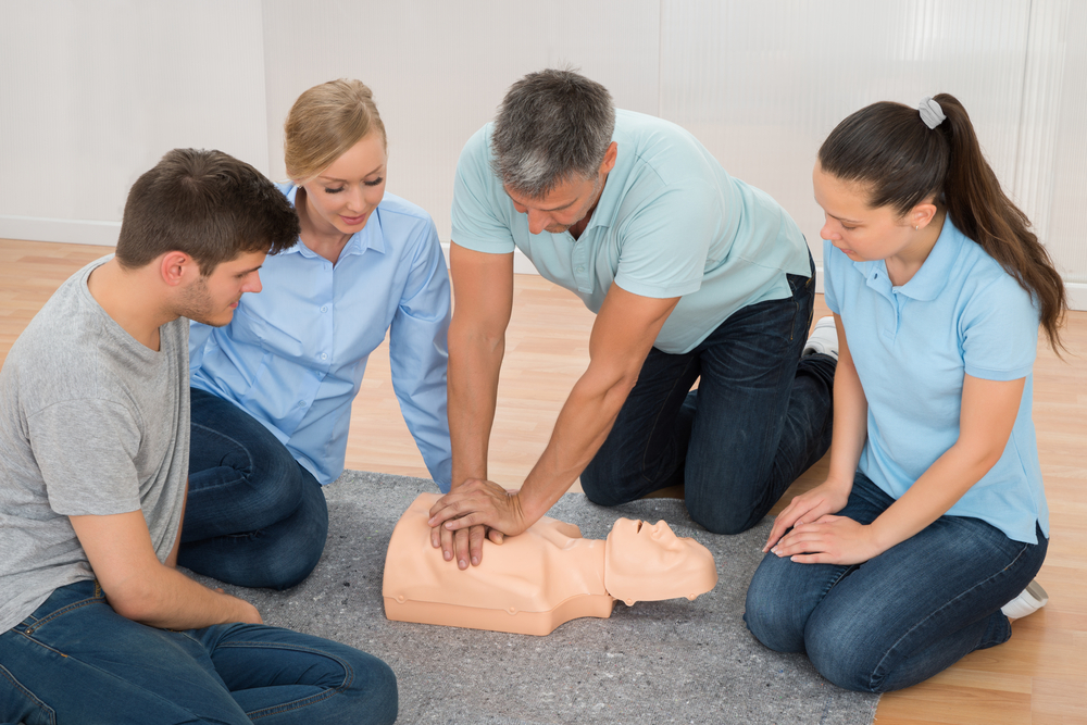 First Aid Courses face to face