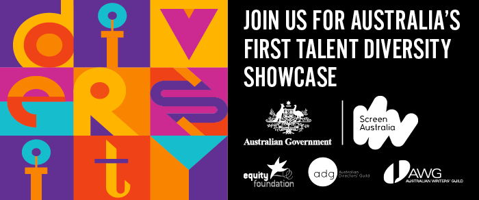 Equity Foundation Diversity Showcase Logo, featuring the tagline join us for Austria's first talent diversity showcase