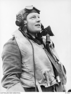 Squadron Leader Keith 'Bluey' William Truscott RAAF, who was awarded a bar to his DFC. His record showed he had destroyed 11 enemy aircraft in combat, probably destroyed three and had damaged a ..