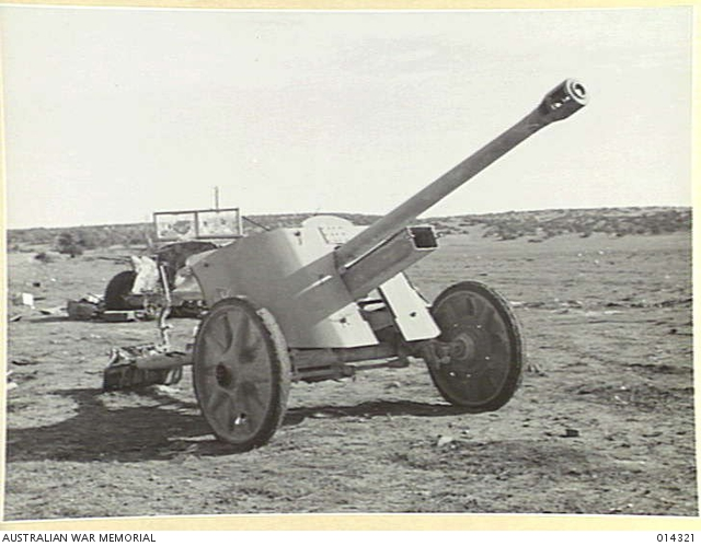 German 50 Mm Anti Tank Gun: THIS GERMAN ANTI-TANK GUN (50 MM HIGH VELOCITY) IS WAITING